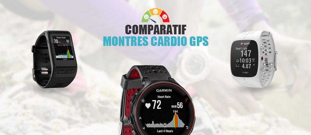 comparatif montres cardio gps