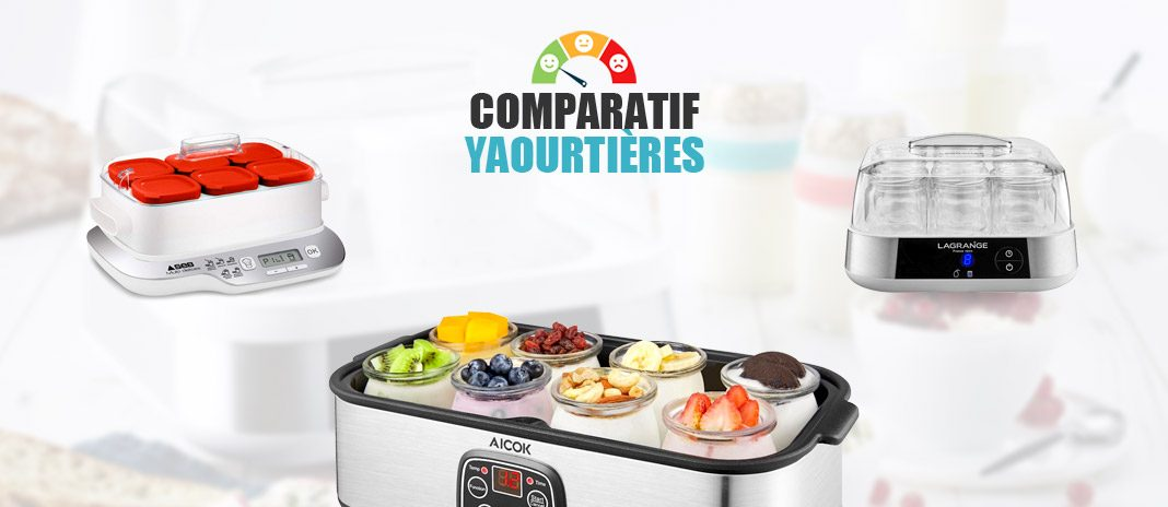 comparatif yaourtieres