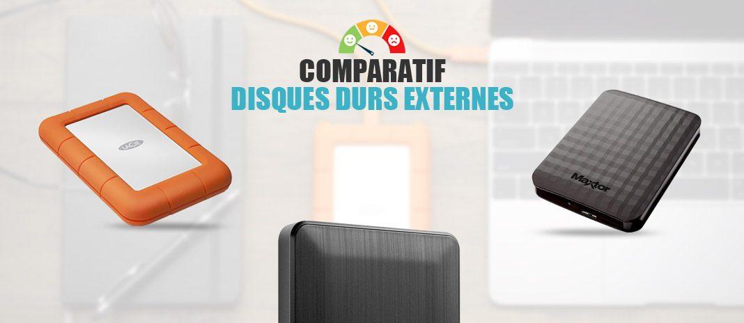 comparatif disques durs externes