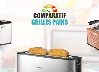 comparatif grilles pains