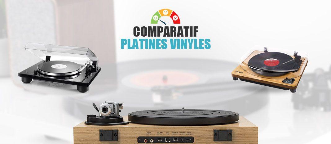 comparatif platines vinyles