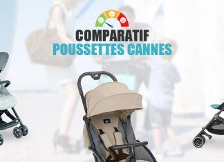 comparatif poussettes cannes
