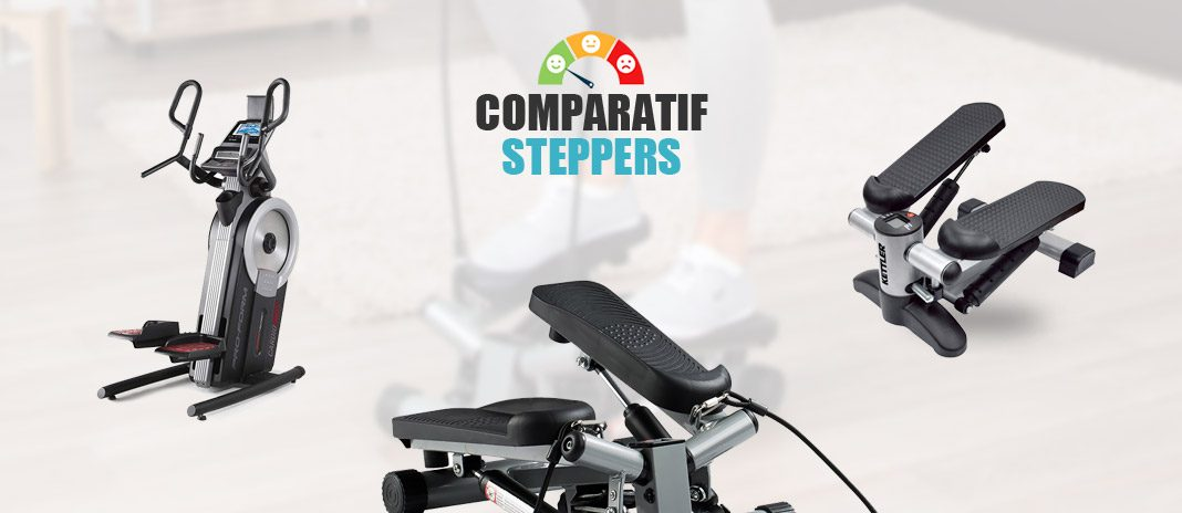 comparatif steppers