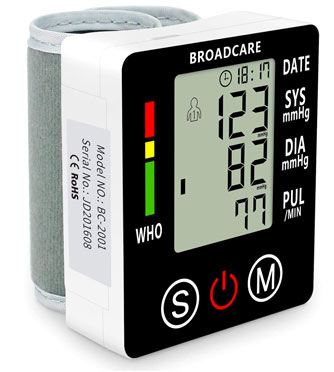 tensiometre poignet broadcare