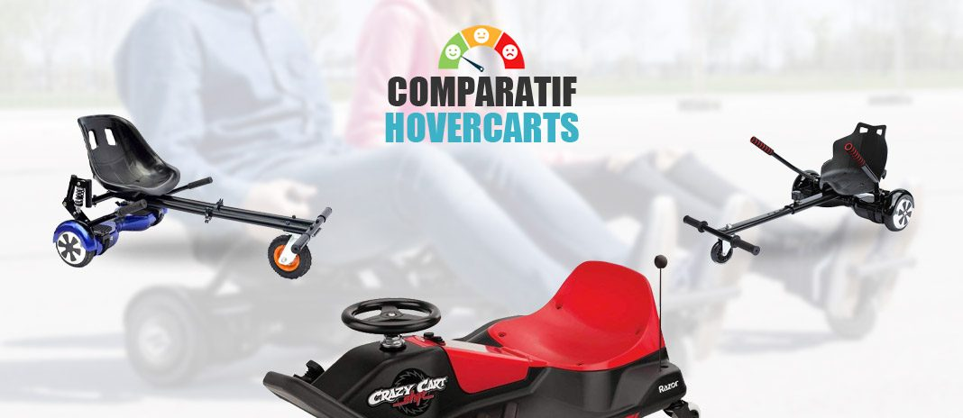 comparatif hovercarts