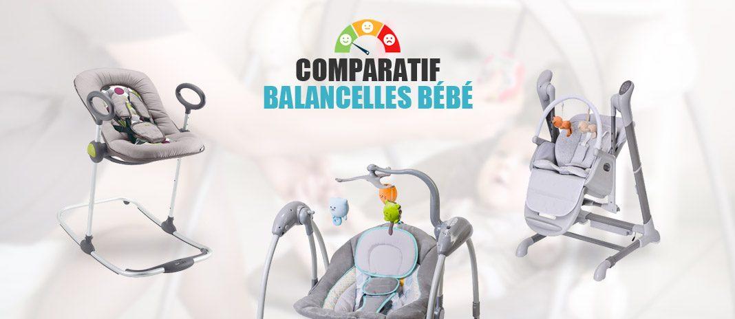 comparatif balancelles bebe
