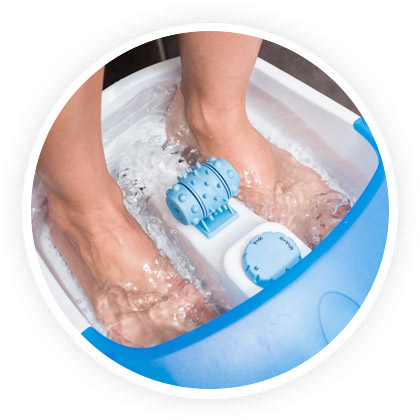 types massages pieds