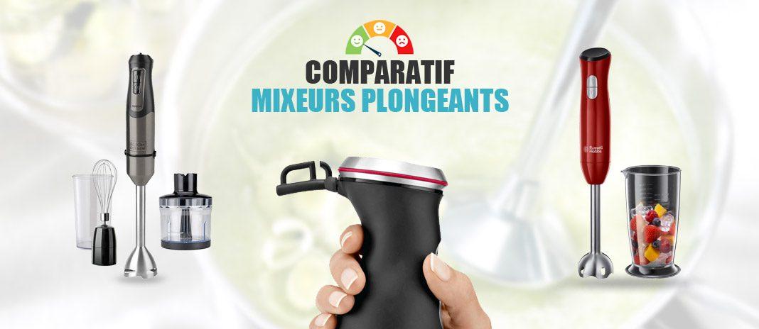 Comparatif mixeurs plongeants