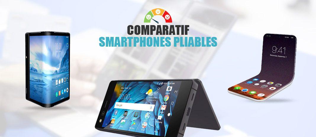 comparatif smartphones pliables