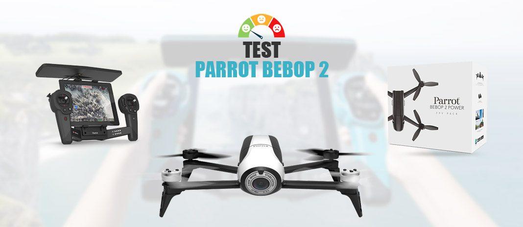 Test Parrot Bebop
