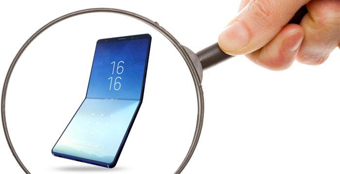 Zoom defauts smartphone pliable