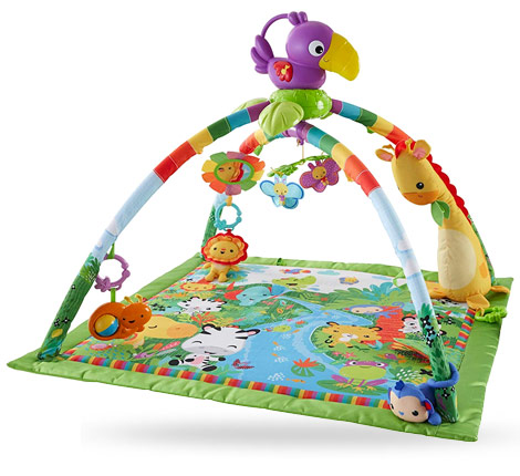 fisher-price tapis musical jungle