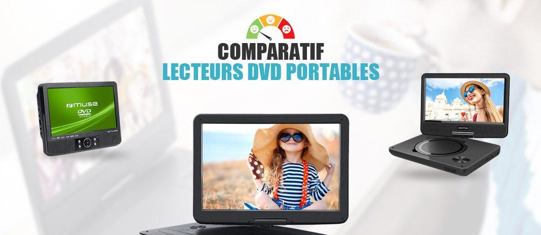 comparatif lecteurs dvd portables