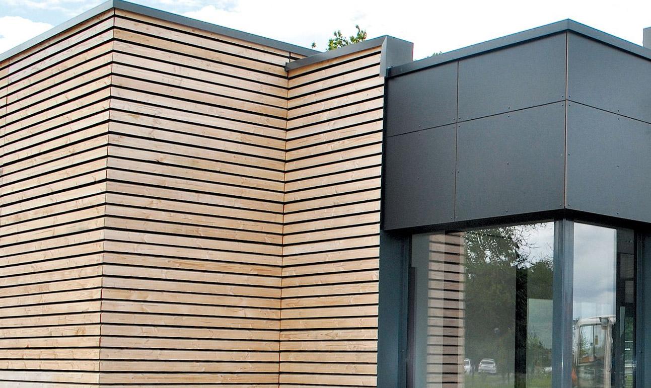 Lames De Bardage Bois Pas Cher bardage bois : une solution Économique et esthétique
